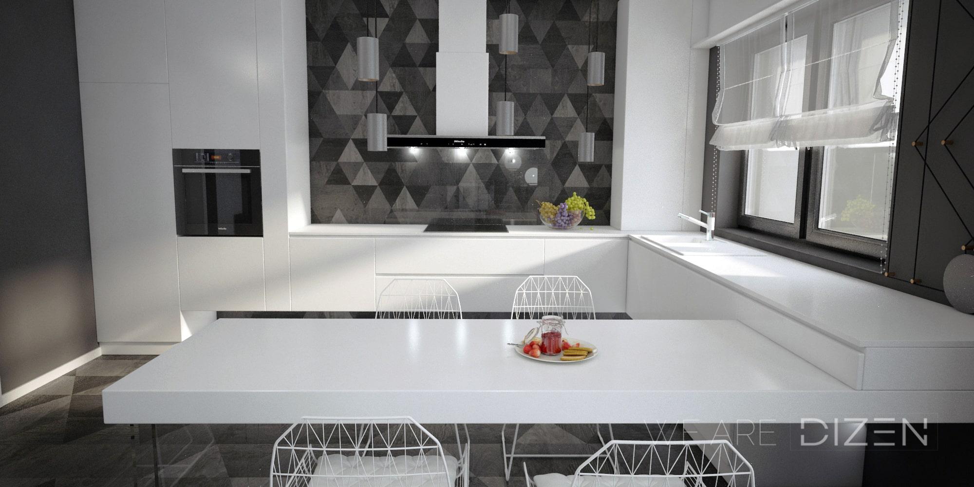 proiect design interior bucatarie
