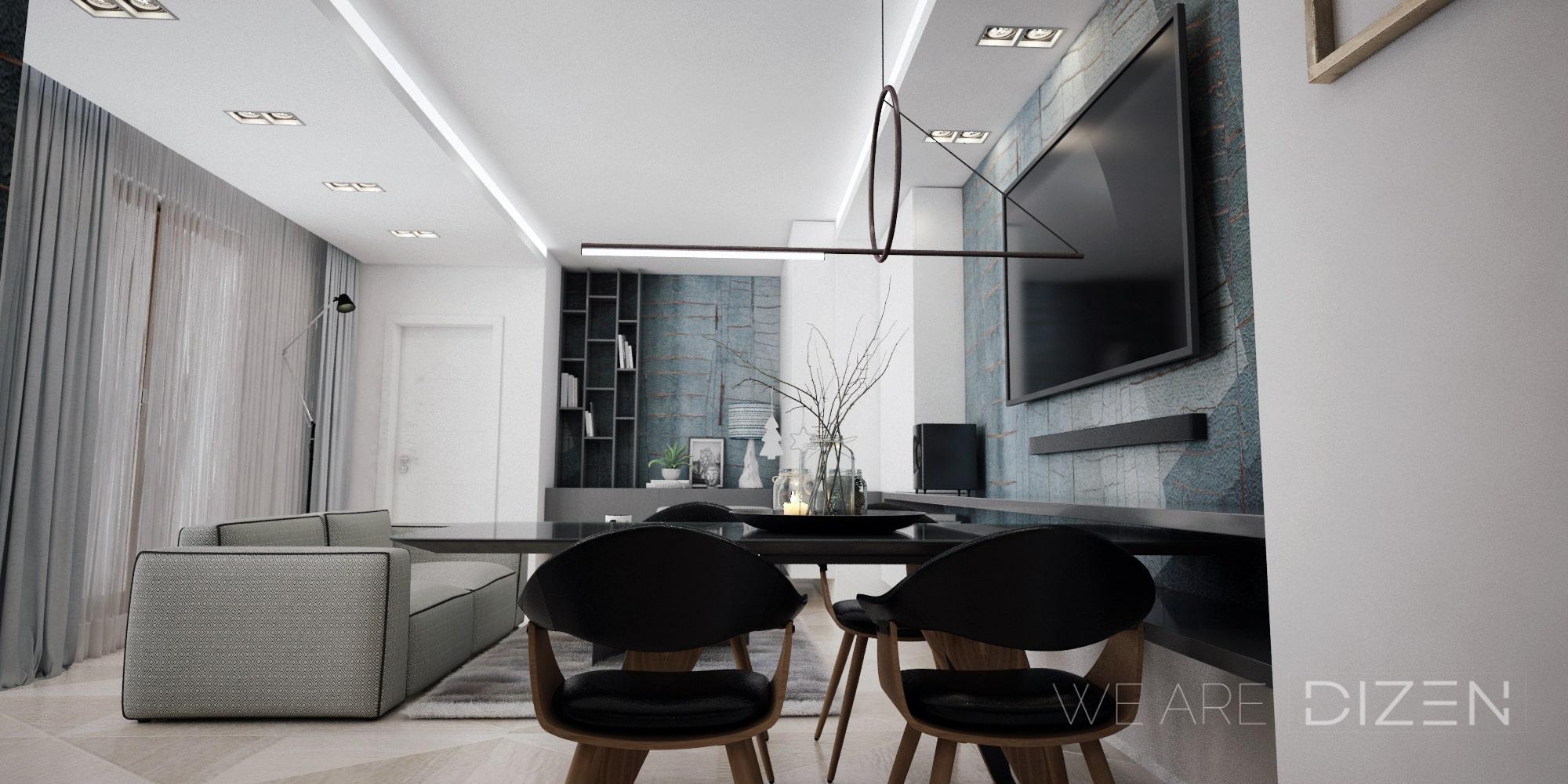 proiect design interior living cluj